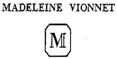 M MADELEINE VIONNET