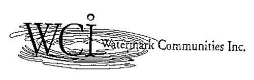 WCI WATERMARK COMMUNITIES INC.