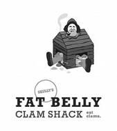 SKULLY'S FAT BELLY CLAM SHACK EAT CLAMS.