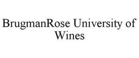 BRUGMANROSE UNIVERSITY OF WINES