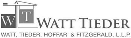 W T WATT TIEDER WATT, TIEDER, HOFFAR & FITZGERALD, L.L.P.