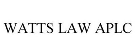 WATTS LAW APLC