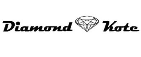 Diamond Kote Trademark Of Wausau Supply Co Serial Number