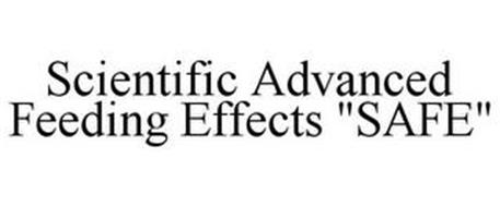 "SCIENTIFIC ADVANCED FEEDING EFFECTS ""SAFE"""