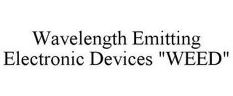 """WAVELENGTH EMITTING ELECTRONIC DEVICES """"WEED"""""""