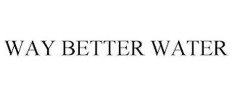 WAY BETTER WATER