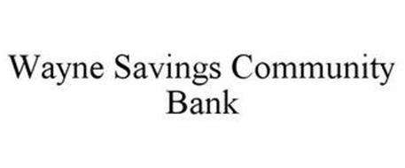 WAYNE SAVINGS COMMUNITY BANK