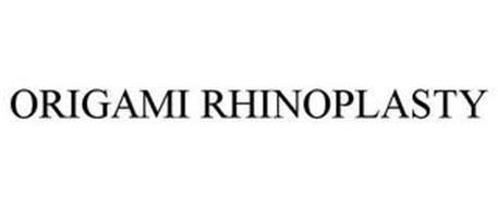 ORIGAMI RHINOPLASTY