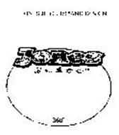 JONES JUICE 360 AND DESIGN