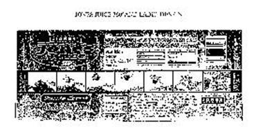 JONES JUICE 360 AND LABEL DESIGN