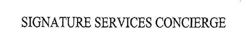 SIGNATURE SERVICES CONCIERGE