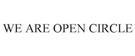WE ARE OPEN CIRCLE