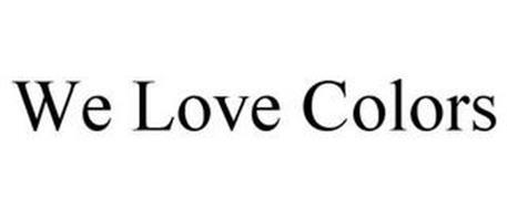 WE LOVE COLORS