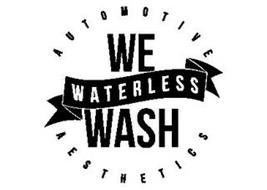WE WATERLESS WASH AUTOMOTIVE AESTHETICS