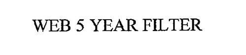 WEB 5 YEAR FILTER