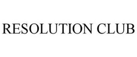 RESOLUTION CLUB