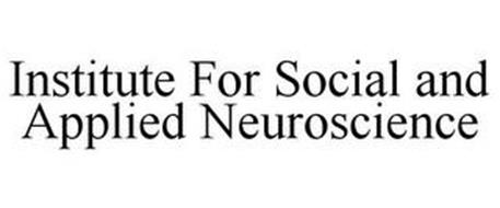 INSTITUTE FOR SOCIAL AND APPLIED NEUROSCIENCE