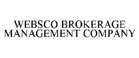 WEBSCO BROKERAGE MANAGEMENT COMPANY