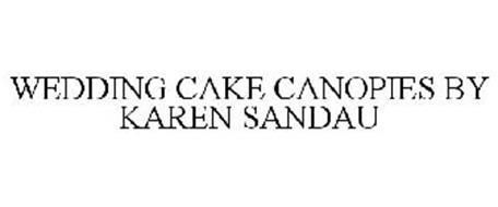 WEDDING CAKE CANOPIES BY KAREN SANDAU