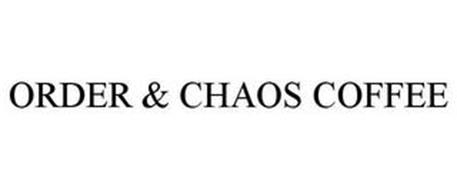 ORDER & CHAOS COFFEE.