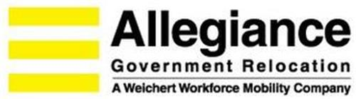 ALLEGIANCE GOVERNMENT RELOCATION A WEICHERT WORKFORCE MOBILITY COMPANY