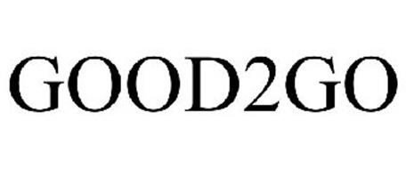 GOOD2GO Trademark of Weider Global Nutrition, LLC. Serial Number: 77043056 :: Trademarkia Trademarks