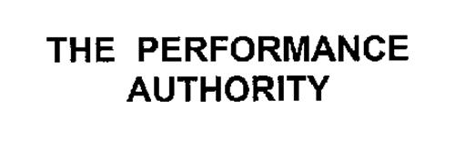 THE PERFORMANCE AUTHORITY