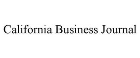 CALIFORNIA BUSINESS JOURNAL