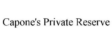 CAPONE'S PRIVATE RESERVE