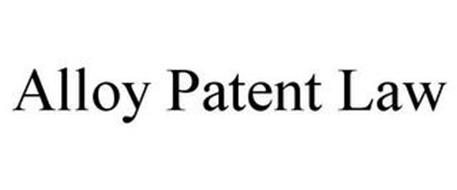 ALLOY PATENT LAW