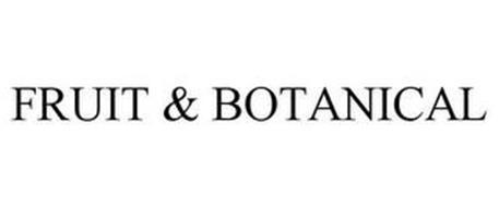 FRUIT & BOTANICAL