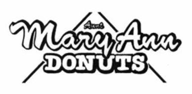 AUNT MARY ANN DONUTS