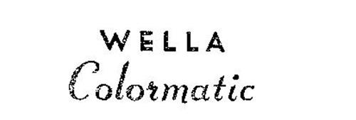 WELLA COLORMATIC
