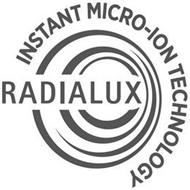 RADIALUX INSTANT MICRO-ION TECHNOLOGY
