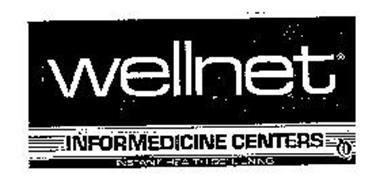 WELLNET INFORMEDICINE CENTERS INSTANT HEALTH SCREENING