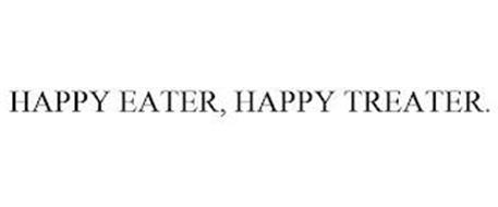 HAPPY EATER, HAPPY TREATER.