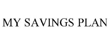 MY SAVINGS PLAN