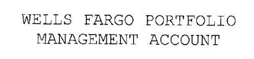 WELLS FARGO PORTFOLIO MANAGEMENT ACCOUNT