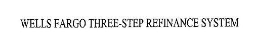 WELLS FARGO THREE-STEP REFINANCE SYSTEM