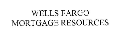 WELLS FARGO MORTGAGE RESOURCES