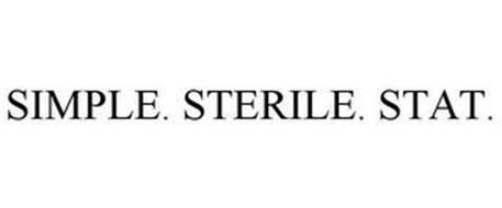SIMPLE. STERILE. STAT.