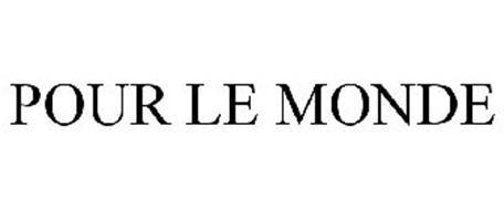 POUR LE MONDE