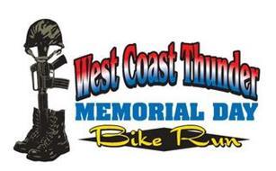 WEST COAST THUNDER MEMORIAL DAY BIKE RUN