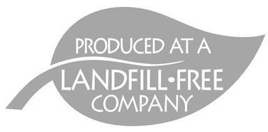 PRODUCED AT A LANDFILL · FREE COMPANY