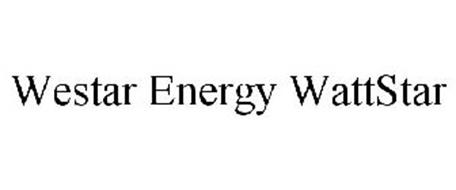 WESTAR ENERGY WATTSTAR