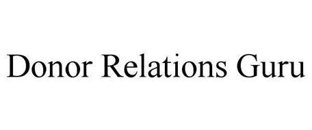 DONOR RELATIONS GURU