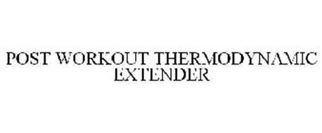 POST WORKOUT THERMODYNAMIC EXTENDER