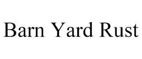 BARN YARD RUST