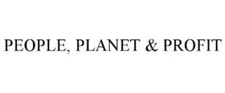 PEOPLE, PLANET & PROFIT