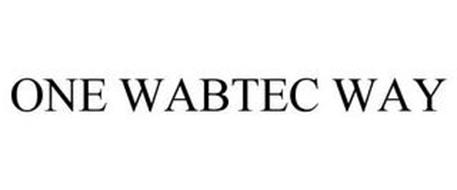 ONE WABTEC WAY